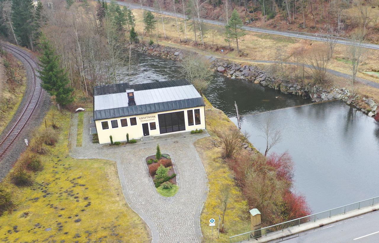 Wasserkraftwerk Gumpenried