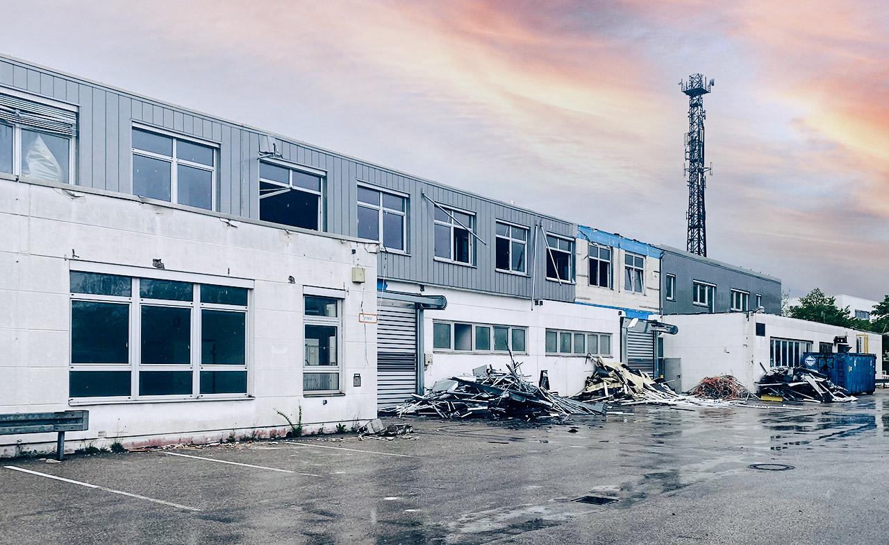 Rückbau ehemalige Gießerei in Garching